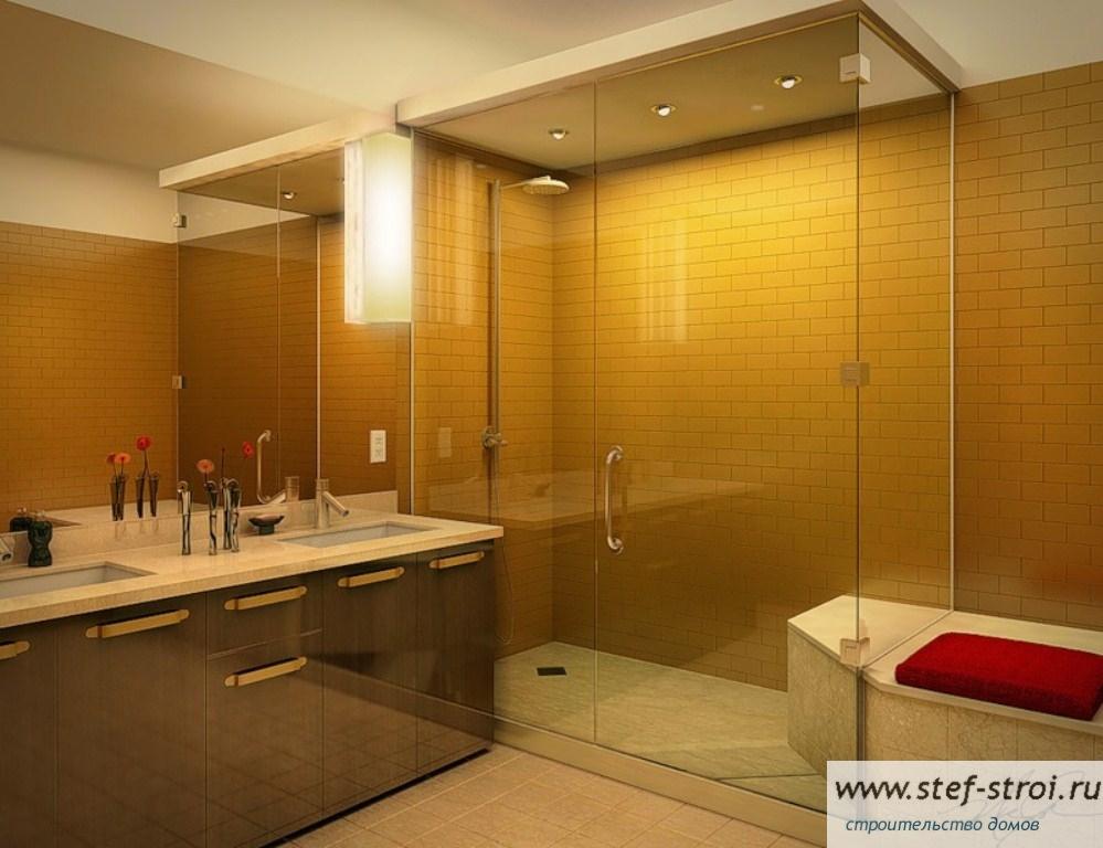 Дизайн в ванной 3х2